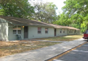 This is a picture of Pavilion Oaks--public housing community.
