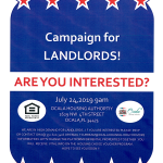 Campaign For Landlords @ Ocala Housing Authority