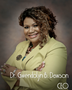 This is a picture of the CEO, Dr. Gwendolyn B. Dawson.